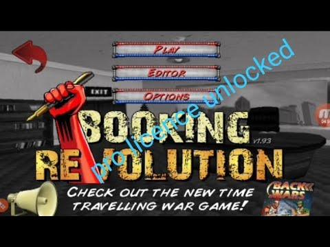 How To Download Wrestling Revolution 2d And Booking Revolution ( Pro Licence Unlocked) Version 1.932
