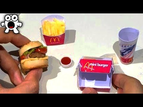 Incredible Miniature Foods You Won't Believe Exist