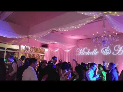 Wedding Reception @ The Malibu West Beach Club, Malibu, California.