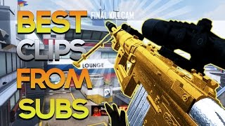 BEST BLACK OPS 2 Trickshot & Sniper Montage from Subs! BO2 & Advanced Warfare (Call of Duty Montage)