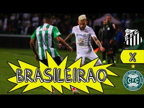 Coritiba 2 x 1 Santos - Melhores Momentos - Campeonato Brasileiro 2016