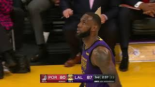 Portland Trailblazers vs Los Angeles Lakers | November 14, 2018