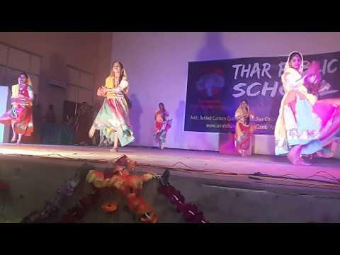Thar Public School, Barmer | annual function 2018 | rajasthani folk dance