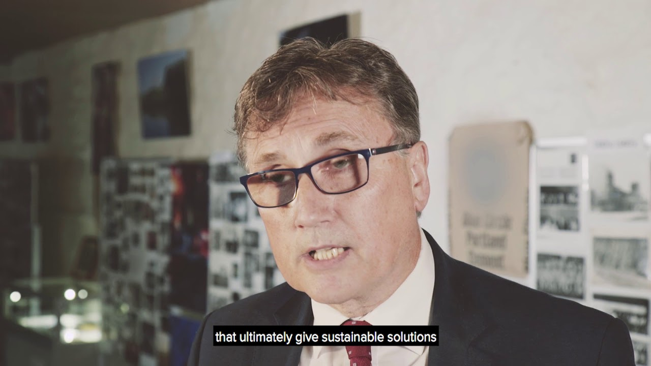 Clive Grudgings of Lafarge Cement - Interview 1