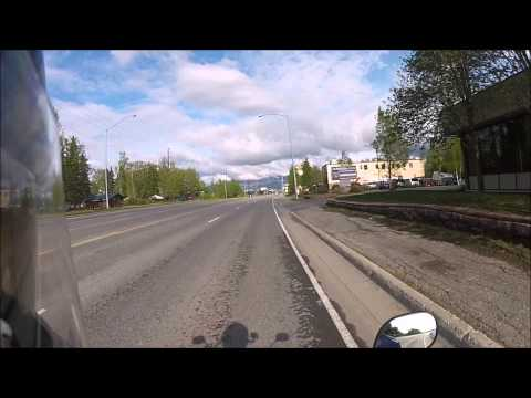 49cc Scooter Diaries - Episode 9 - Airport/International Road/Old Seward/Etc  Anchorage Alaska HD