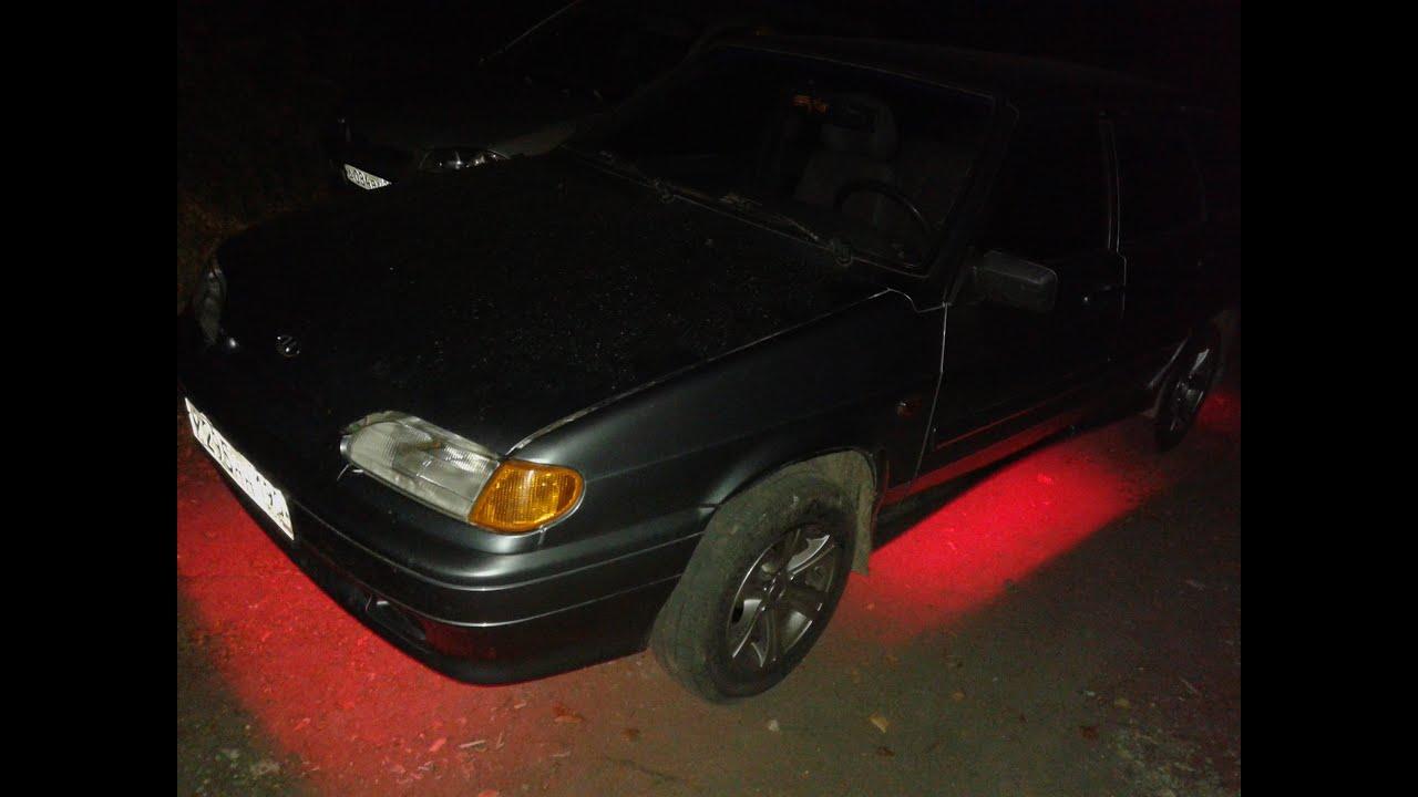 схема для подсветки днища авто
