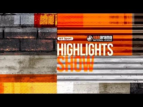 National League Highlights: Match Day 19   BT Sport