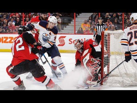 Oilers three stars in win over the Senators