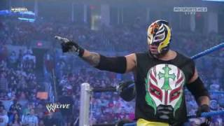 vuclip Rey Mysterio Returns On Smackdown 10/1/2010 HD