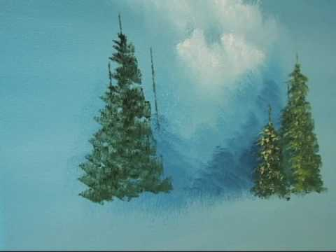 Learn How To Create Up Evergreen Trees The Easy Way Youtube