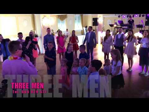 Zabawa dla dzieci ale świetnie bawili się również dorośli - Zespół weselny THREE MEN