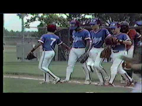 1986 Texas Little League State Tournament - Game 1 - San Antonio NW 6 Brownsville 3