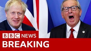 Brexit: Juncker rules out Brexit extension - BBC News