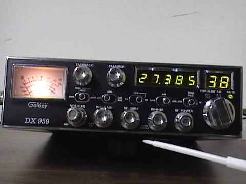 Galaxy DX 959 AM/SSB CB Radio Review / Overview by CBradiomagazine.com (Tuning locations included)
