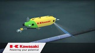 "Kawasaki: Autonomous Underwater Vehicle ""SPICE"""