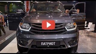 Новый УАЗ Patriot 2017. Патриот догоняет Land Cruiser