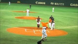 2012年3月25日 東京ドーム 読売ジャイアンツvsオークランド・アスレチッ...