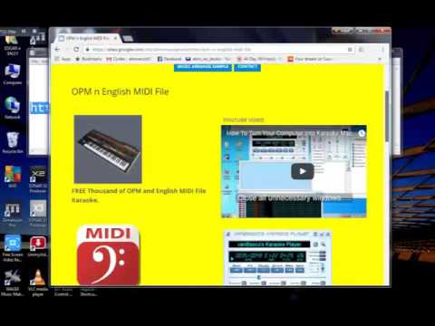 Midi File Karaoke FREE from OPM, English POP n Christian Song