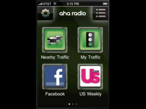Aha Radio In App Demo