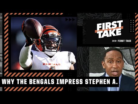 Stephen A. says 'Ja'Marr Chase is THAT DUDE' & is impressed by Joe Burrow's Bengals   First Take