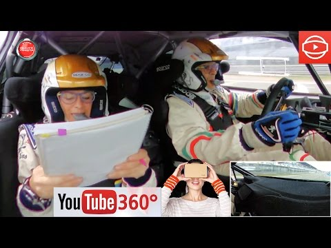 Un Giro Di Pista A 360° VR Con AndreUCCI-AndreUSSI Al Monster Energy Monza Rally Show 2015 #360Video