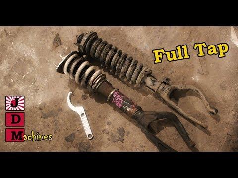 Изготовление Full tap койловеров Civic Pro #6