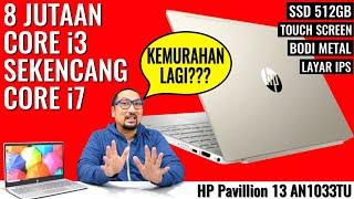 Core i3 Rasa Core i7 Review Laptop HP Pavilion 13 AN1033TU - Indonesia