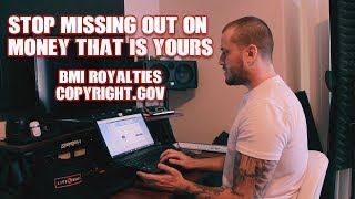 How to sell beats:  Collect royalties using BMI and Copyright.gov