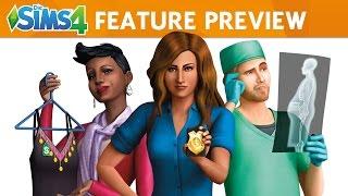 Die Sims 4 An die Arbeit!: FEATURE PREVIEW VIDEO