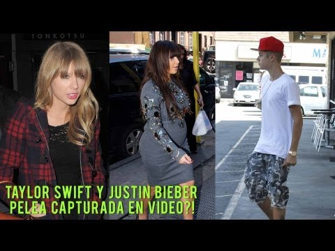 Taylor Swift y Justin Bieber Pelea Capturada en VIDEO!