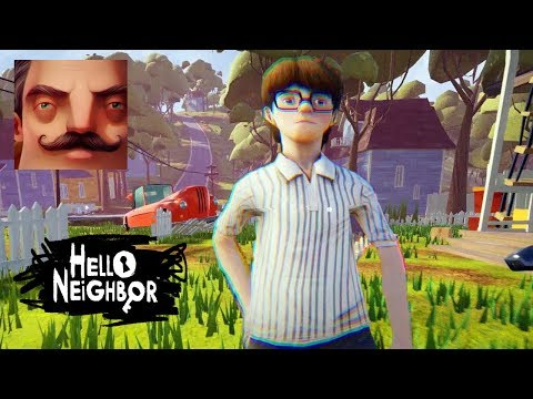 HELLO NEIGHBOR ICE SCREAM 2 - My New Neighbor MIKE ICE SCREAM Act 1 Gameplay Walkthrough