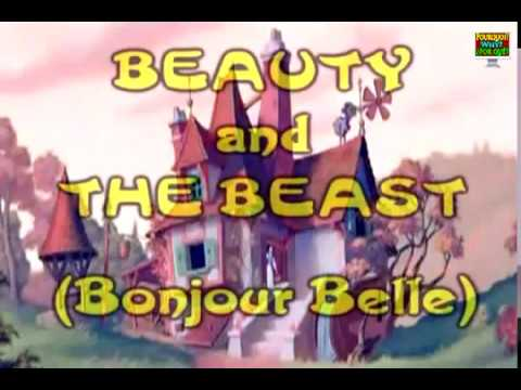 Learn French with Beauty and the Beast Bonjour Belle (English and French dual subtitles)