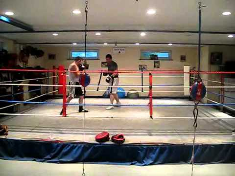Sparring in Maidenhead, August 2010, Johnny and Ad...
