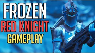 *NEW SKIN* - FROZEN RED KNIGHT - FORTNITE Battle Royale [No Commentary Gameplay]