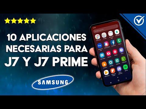 10 Aplicaciones Necesarias para el Samsung Galaxy J7 y J7 Prime