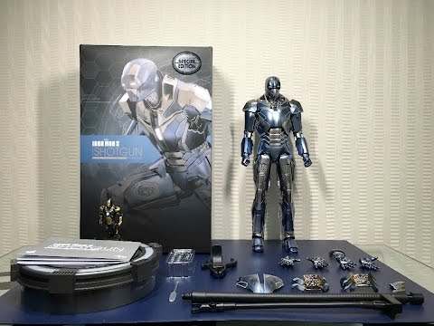 Shotgun Mark 40 by HOT TOYS from Iron Man 3 thumbnail