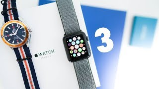 Apple Watch 3 REVIEW - The ALMOST Perfect Smartwatch
