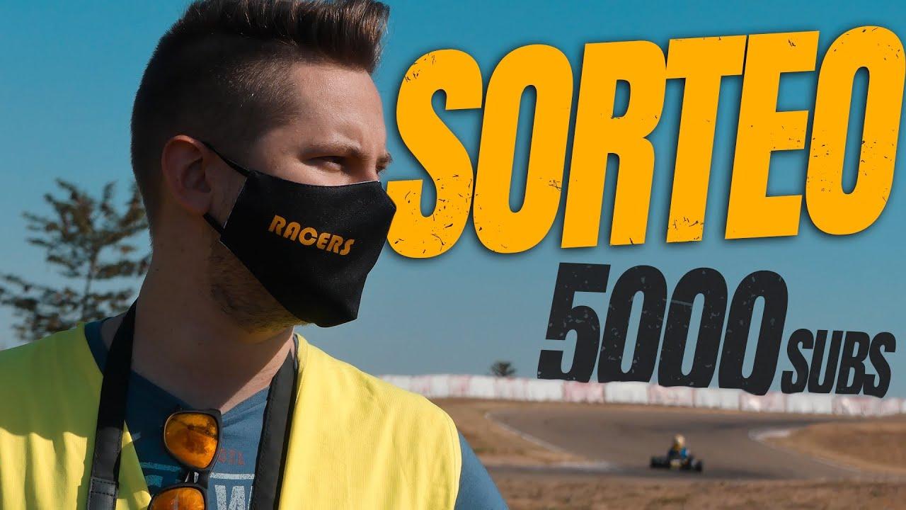 ¿Qué SORTEAMOS? Especial Racers 5000 subs... ¡desde el circuito! GRACIAS
