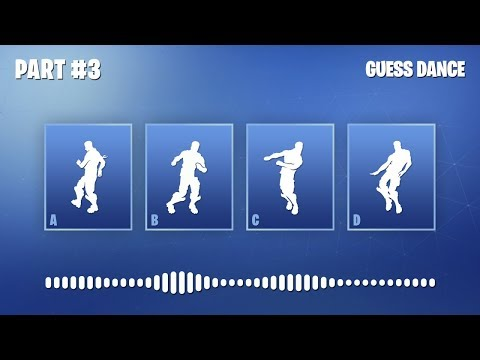 GUESS THE FORTNITE DANCE BY ITS MUSIC #3 - FORTNITE CHALLENGE | tusadivi