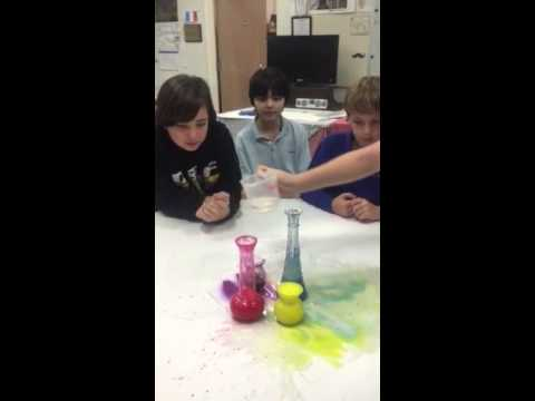 Canterbury School of Florida, Middle School Art STEAM lesson