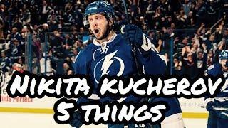 Nikita Kucherov 5 Things You Did Not Know