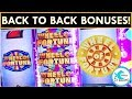 WE LOVE THE WHEEL! BEST VERSION of WHEEL OF FORTUNE SLOT MACHINE!