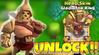 Just Unlock New & Gladiator King Skin & New Update 2019 | Clash Of Clans