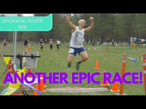 TRAIL RUNNING- Another WIN!!! Spokane River Run 50k