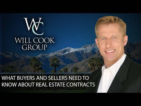 Palm Springs Real Estate Agent: Is It Possible to Get out of a Real Estate Contract?