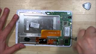HP Slate 7 1800 Glass/Screen Replacement - Disassembly