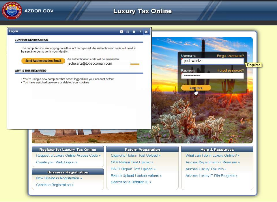 how to make tax payment online