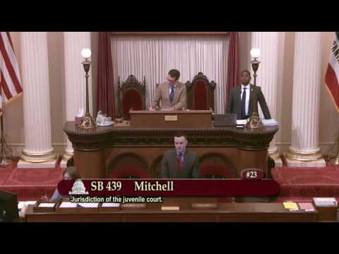 Sen. Holly J. Mitchell explains why children under 12 should be helped – not prosecuted