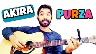 Purza Guitar Chords and Tabs Lesson Akira