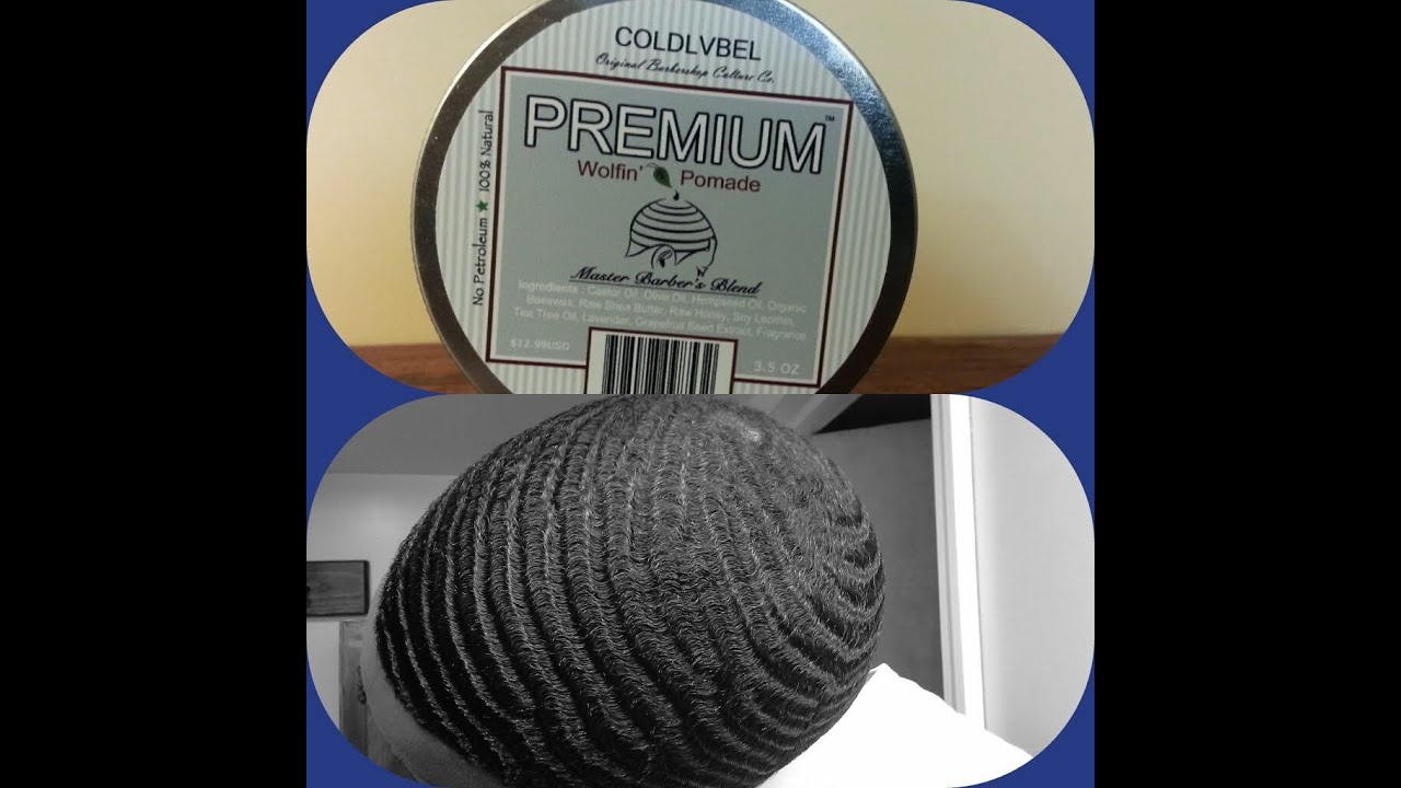 New  360 Waves  Coldlvbel Premium Wolfin Pomade  Review